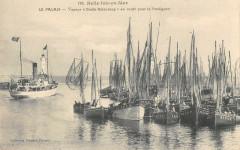Belle Isle En Mer Le Palais Vapeur Emile Solacroup Route Pour Pouliguen - Le Palais