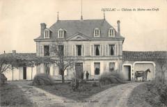 Ozillac Chateau Du Maine Aux Cerfs (cpa pas courante - Ozillac