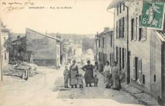 Apremont Rue De La Roche (cpa pas courante - Apremont