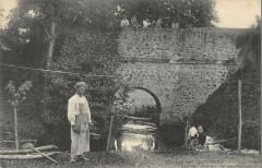 Les Moutiers Les Mauxfaits Le Pont Taillepied Le Lavoir - Moutiers-les-Mauxfaits