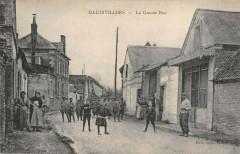 Haudivillers La Grande Rue - Haudivillers