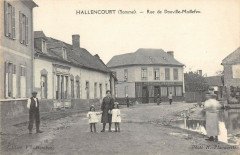 Hallencourt Rue De Douville Maillefeu - Hallencourt