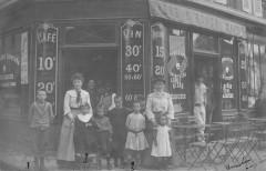 Les Lilas Carte Photo D'Une Devanture De Cafe - Les Lilas