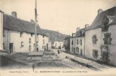 Rochefort En Terre Le Carrefour Du Vieux Bourg - Rochefort-en-Terre