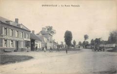 Bernaville La Route Nationale - Bernaville