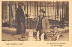 Les Petits Métiers de Paris - Le Marchand de Statuettes 75 Paris