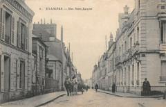 Etampes Rue Saint Jacques (cpa pas courante - Étampes