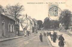 Fontenay Le Comte Rue Turgot Place Du Marche - Fontenay-le-Comte