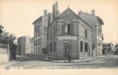 Ermont La Poste Carrefour Des Rues St Flaire Et Lamartine - Ermont