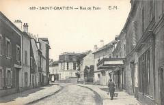 Saint Gratien Rue De Paris - Saint-Gratien