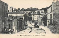 Arcueil Cachan Rue De La Fontaine 94 Arcueil