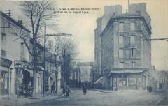 Fontenay Sous Bois Avenue De La Republique (cliché pas courant 94 Fontenay-sous-Bois