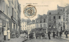 Gentilly Place De La Fontaine Et Rue Frileuse - Gentilly