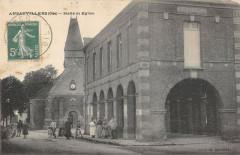Ansauvillers Halle Et Eglise - Ansauvillers