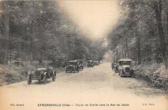 Ermenonville Route De Senlis Vers La Mer De Sable - Ermenonville
