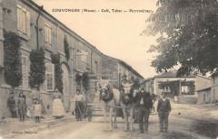 Couvonges Cafe Tabac Petitpretre (cpa rare - Couvonges