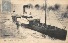 Trouville La Touques En Pleine Mer - Touques