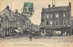 Trouville La Route De Touques - Touques