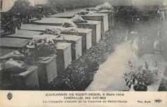 Explosion De Saint Denis 1916 La Chapelle Ardente 93 Saint-Denis
