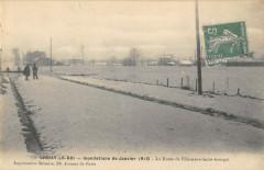 Choisy Le Roi Inondations 1910 La Route De VilleneuveSaint-Georges 94 Choisy-le-Roi