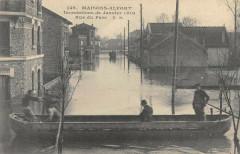 Maisons Alfort Inondations 1910 Rue Du Parc 94 Maisons-Alfort