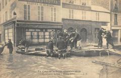 Crue Seine 1910 Maisons Alfort Distribution Du Pain 94 Maisons-Alfort
