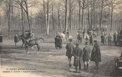 Foret D'Ermenonville Chasse A Courre Depart Pour L'Attaque - Ermenonville
