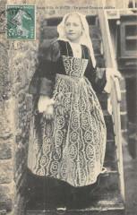 Jeune Fille De Baud Le Grand Costume De Fete - Baud