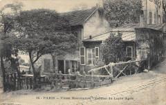 Vieux Montmartre - Cabaret du Lapin Agile - Paris 18e