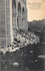 Consécration sur Sacré-Coeur - L'Arrivée de la Châsse au Sacré-Coeur 75 Paris 18e