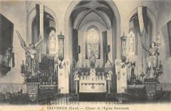 Calvisson Choeur De L'Eglise Paroissiale - Calvisson