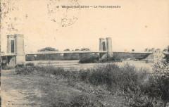 Mornay Sur Allier Le Pont Suspendu - Mornay-sur-Allier