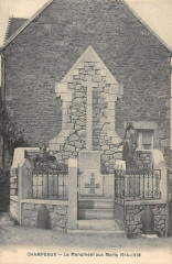 Champeaux Monument Aux Morts - Champeaux