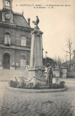 Gentilly Monument Aux Morts - Gentilly