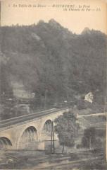 Montherme Le Pont Du Chemin De Fer (Train - Monthermé