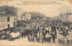 La Maison Lillet Recoit Un Convoi De Sauternes Recolte 1903 - Sauternes