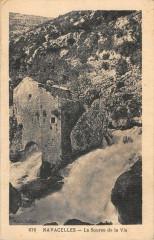 Navacelles La Source De La Vis - Celles