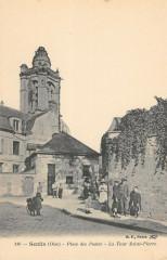 Senlis Place Des Postes - Senlis