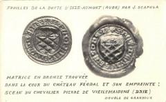 Fouilles De La Butte D'Isle Aumont Aube Par J.scapula - Isle-Aumont