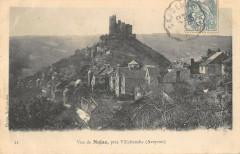 Vue De Najac Pres Villefranche - Najac