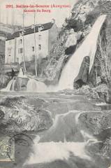 Salles La Source Cascade Du Bourg - Salles-la-Source