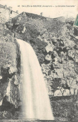 Salles La Source La Grande Cascade - Salles-la-Source
