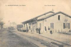Maraussan La Gare (Train Rare Cliche - Maraussan