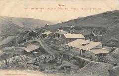 Villaniere Mines De L'Aude Puits Saint Jean Bureaux Et Ateliers - Villanière
