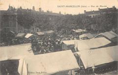Saint Marcellin Parc Du Marche (cliché pas courant - Saint-Marcellin