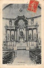 Saint Laurent De Cerdans Interieur De L'Eglise 66 Saint-Laurent-de-Cerdans