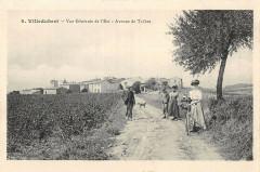 Villedubert Vue Generale De L'Est Avenue De Trebes - Villedubert