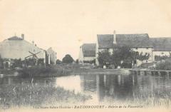 Baudoncourt Entree De La Passerelle (cliché pas courant - Baudoncourt