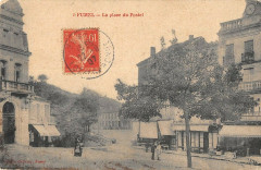 Fumel La Place Du Postel - Fumel