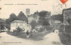 Gavaudun La Tour Rocher - Gavaudun